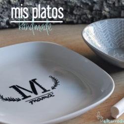 pintar platos tú mismo