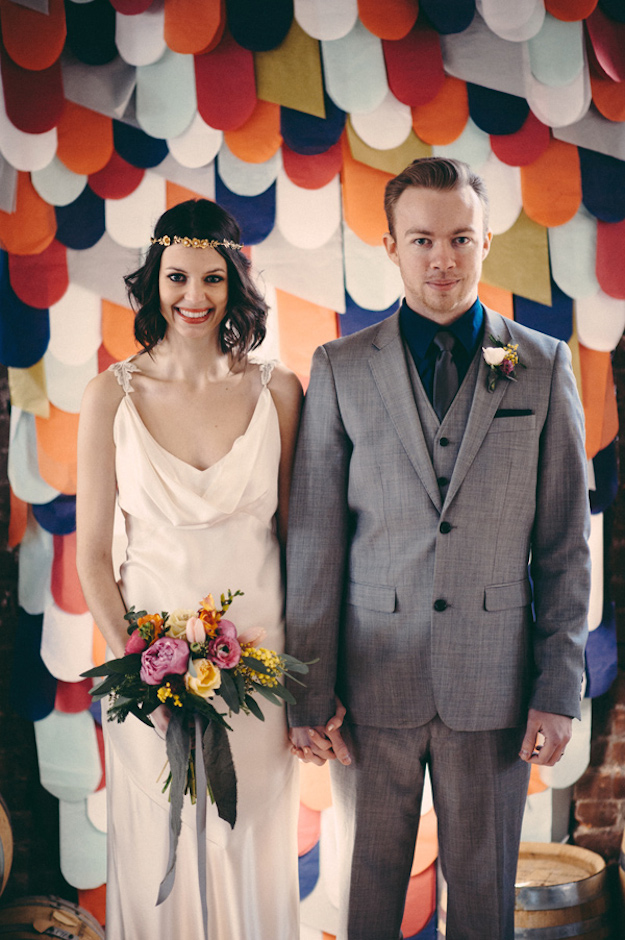 Ruffled - photo by http://www.jbmweddings.com/ - http://ruffledblog.com/bold-geometric-wedding-inspiration/
