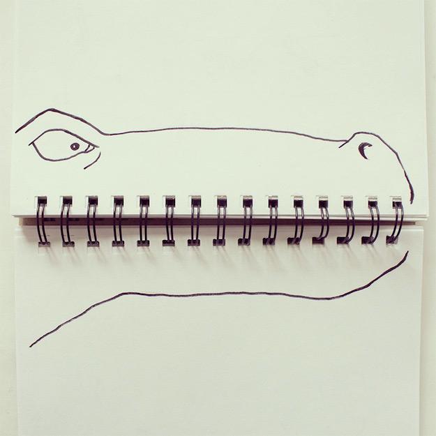 Objetos cotidianos convertidos en ilustraciones por Javier Perez-el tarro de ideas-4