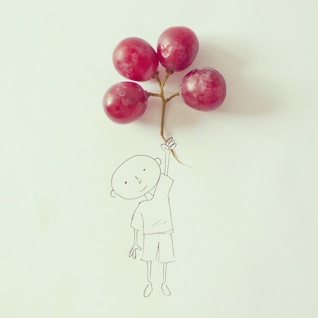Objetos cotidianos convertidos en ilustraciones por Javier Perez-el tarro de ideas-5