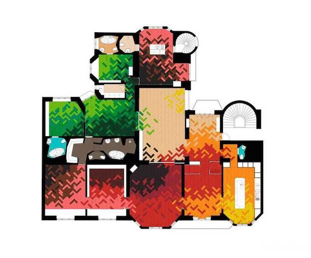 Una casa muy colorida-el tarro de ideas-9