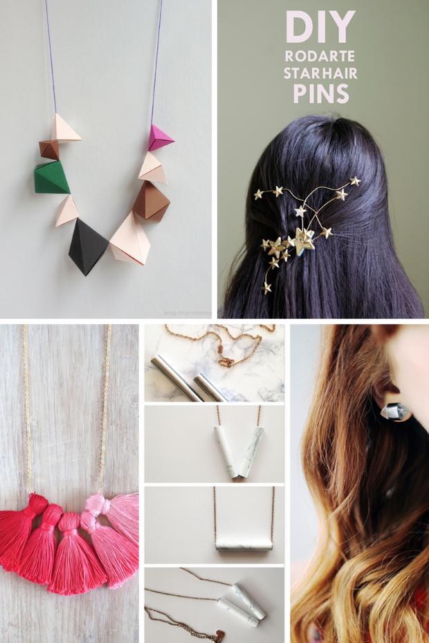 10 ideas para hacer joyas en casa - El tarro de ideas