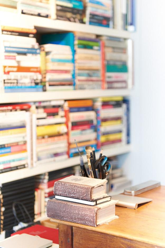 Una casa llena de libros - El tarro de ideas