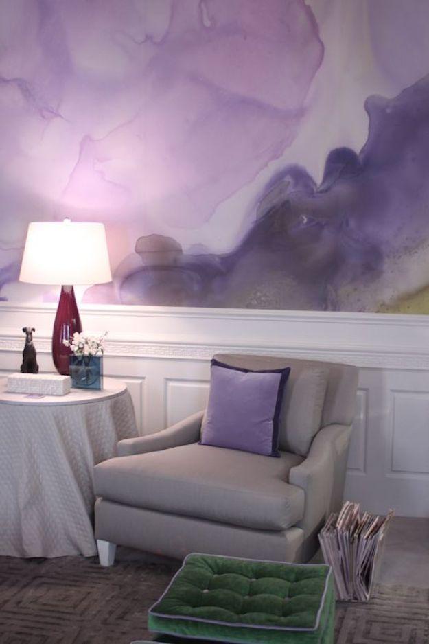 Pintar Las Paredes Con Efecto Acuarela El Tarro De Ideas - Ideas-pintar-paredes