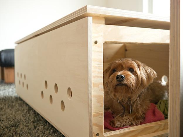 Casas para perros y gatos handmade el tarro de ideas - Casas para perros pequenos ...