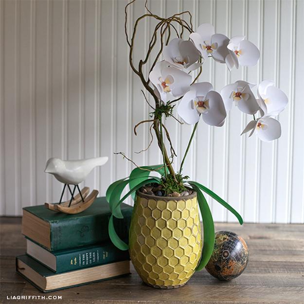 Como hacer flores de papel-el tarro de ideas-diy-4