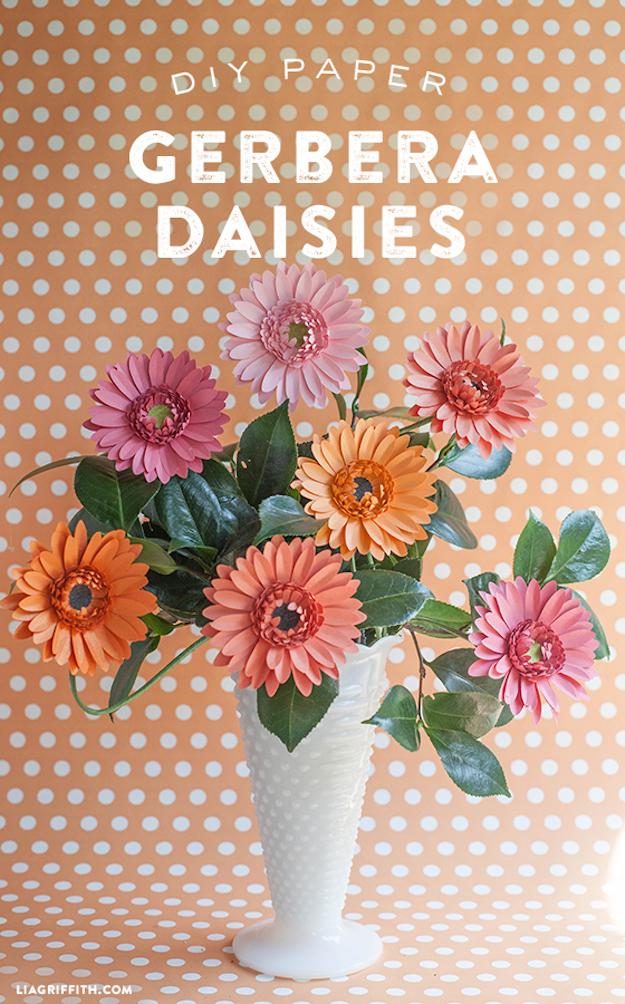 Como hacer flores de papel-el tarro de ideas-diy