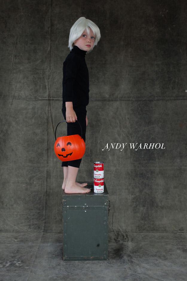 Disfraces handmade-El Tarro de ideas-Andy-Warhol