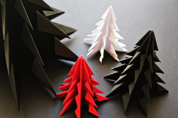 arboles de navidad hechos en casa-el tarro de ideas