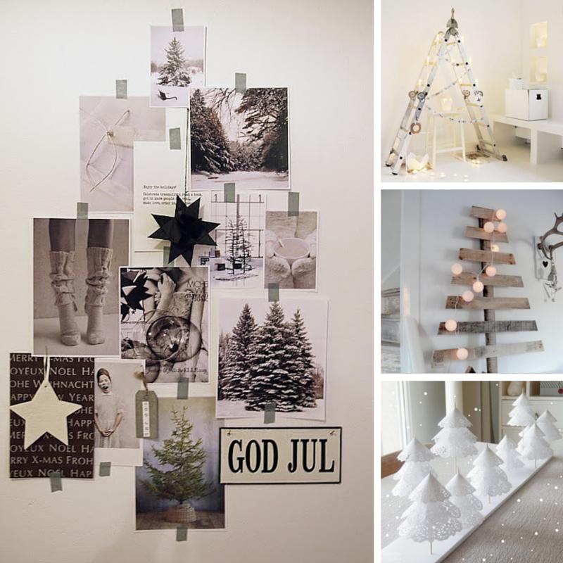 rboles de navidad hechos en casa el tarro de ideas