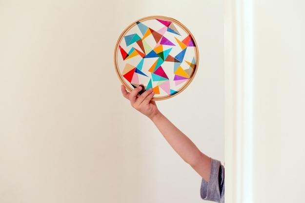 15 ideas para reciclar tus bastidores antiguos_el tarro de ideas_2
