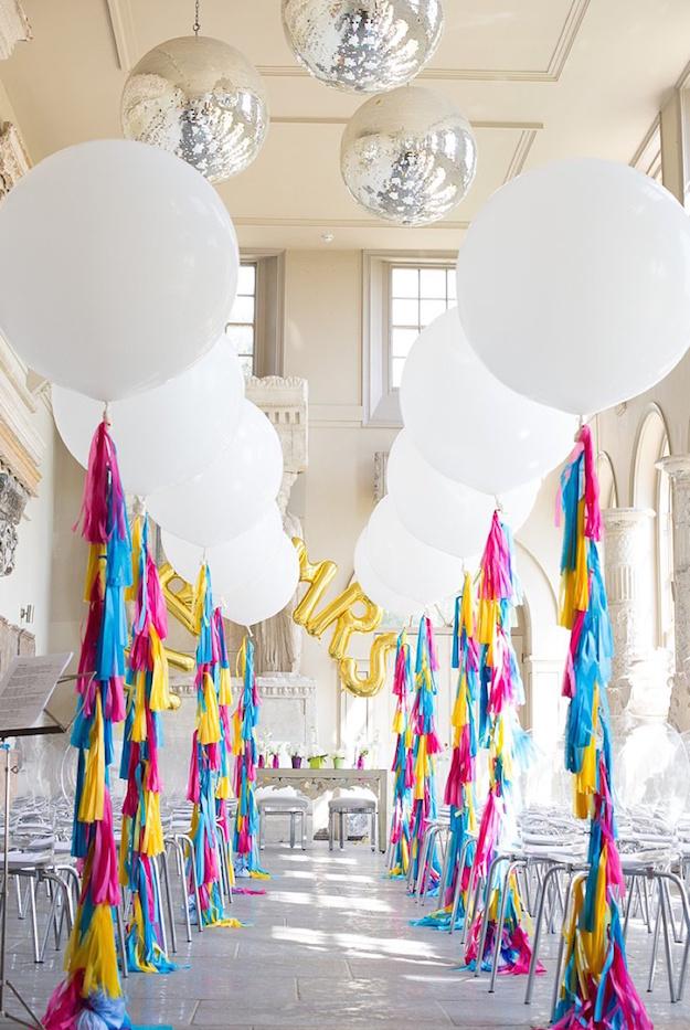 ni una boda sin globos - el tarro de ideas