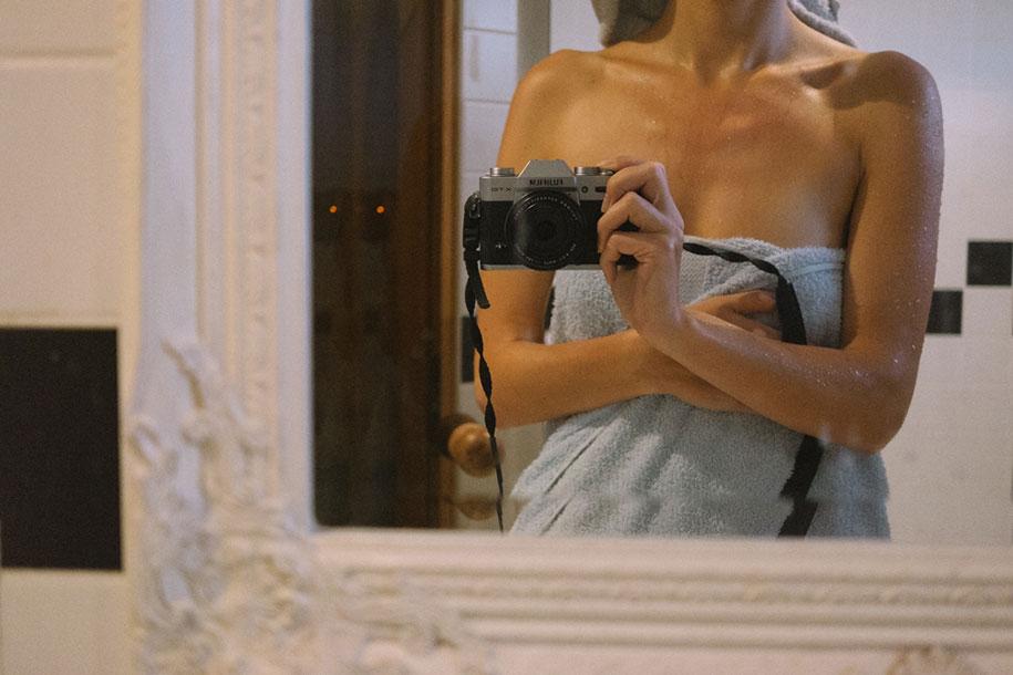 Liisa Luts-la novia que fotografió su propia boda