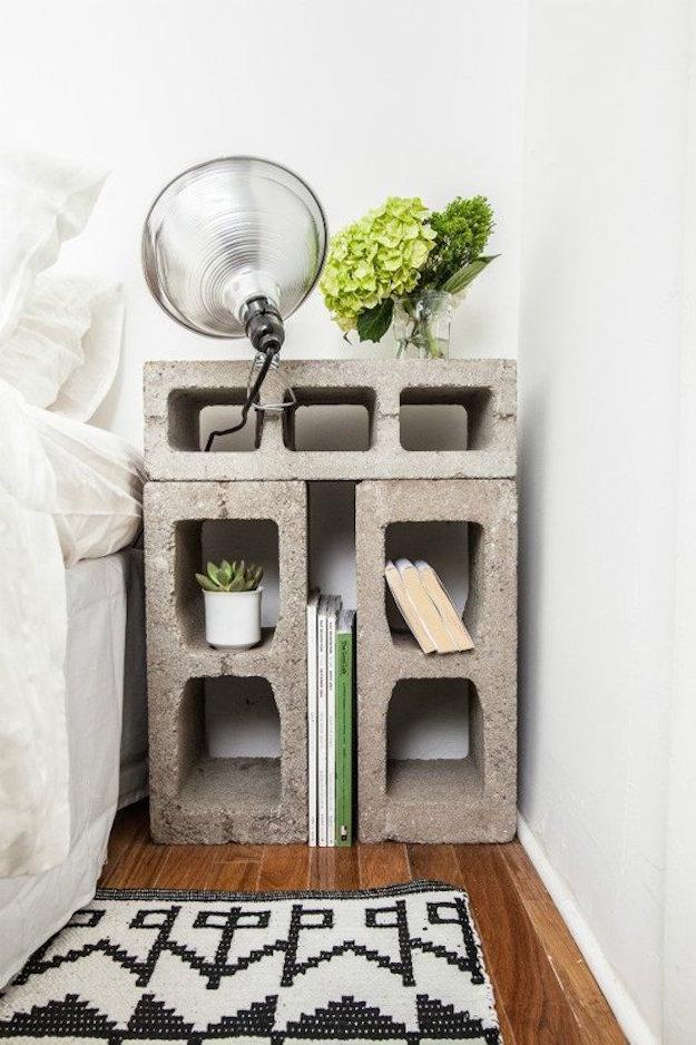 decorando con bloques de cemento-el tarro de ideas