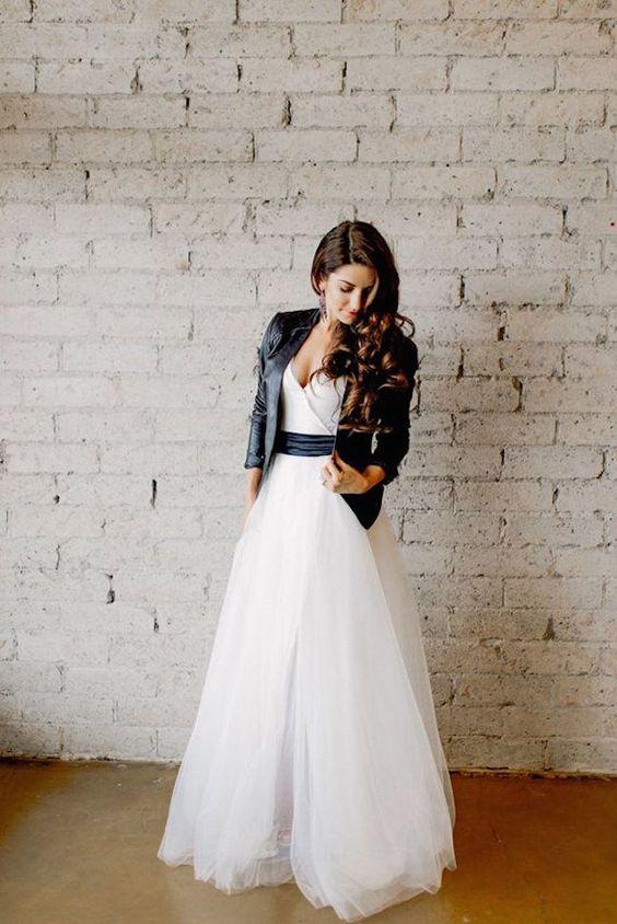 vestidos de boda nada convencionales