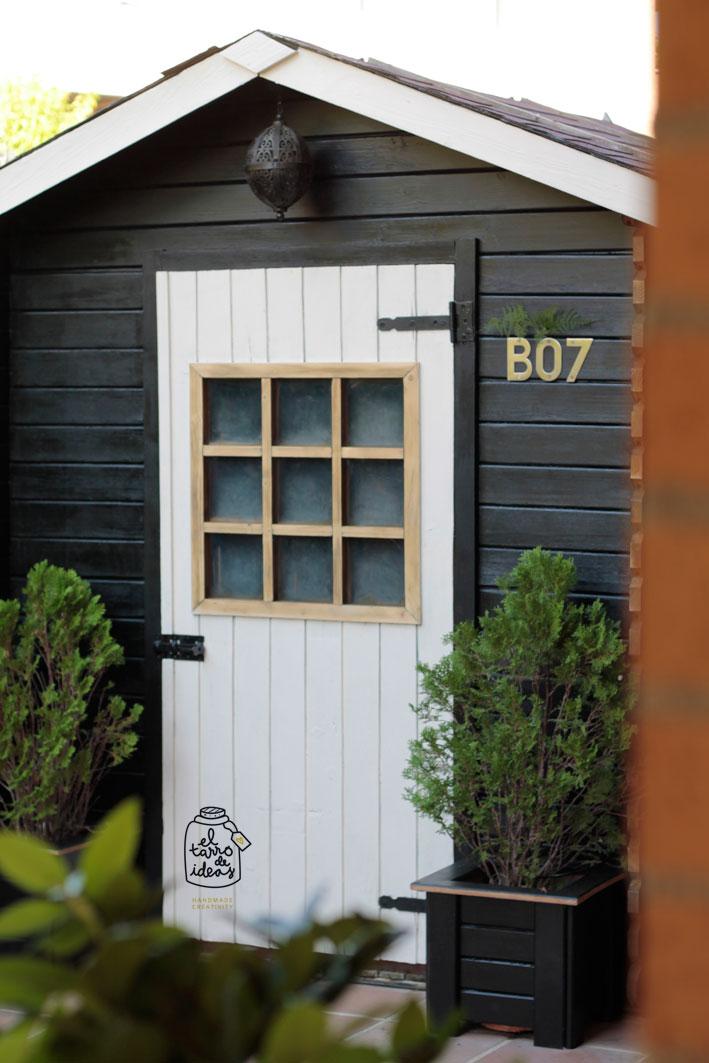 caseta jardín muebles mobiliario estilo decoración restauración pintura pintar hazlo tu mismo diy tutorial paso a paso hogar decoración inspiración ideas