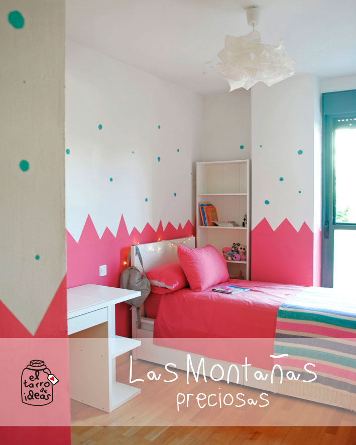 Habitacion infantil rosa interesting dormitorio con - Habitacion infantil rosa ...