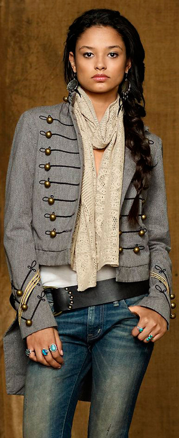 moda militar tendencias trendy outfit style woman mujer military look