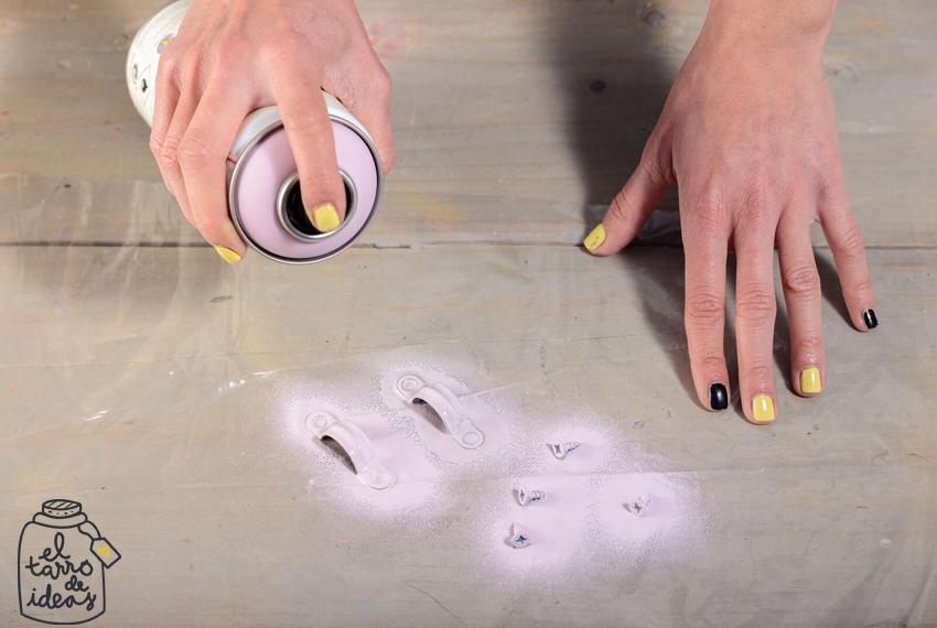 huerto, chalk paint, spray, pintura, manualidades, pintar