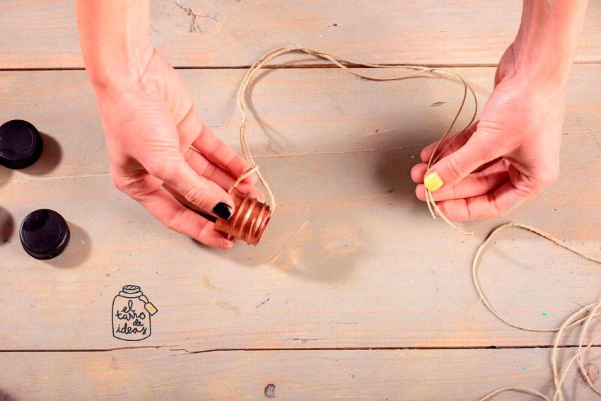 adviento, como se hace, calendario, handmade, hecho a mano, tutorial, diy, cobre, negro, pintar