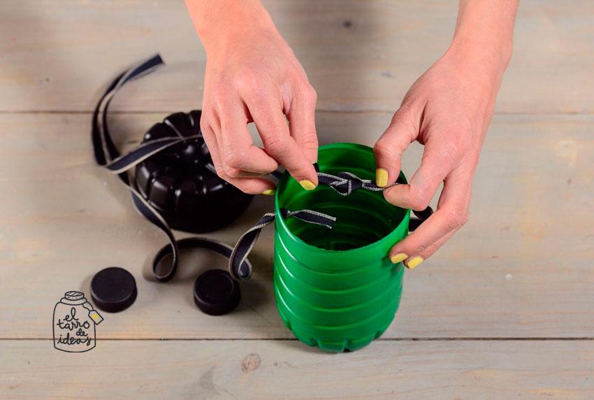 caramelos, reciclar, eco, reutilizar botellas de agua, reciclaje botellas, paso a paso