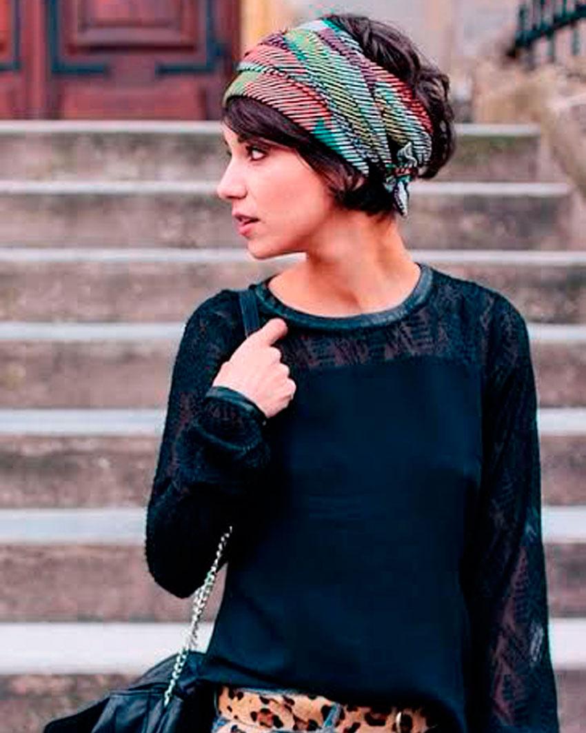 pañuelo, estilo, moda, tendencias, verano, vacaciones, turbante