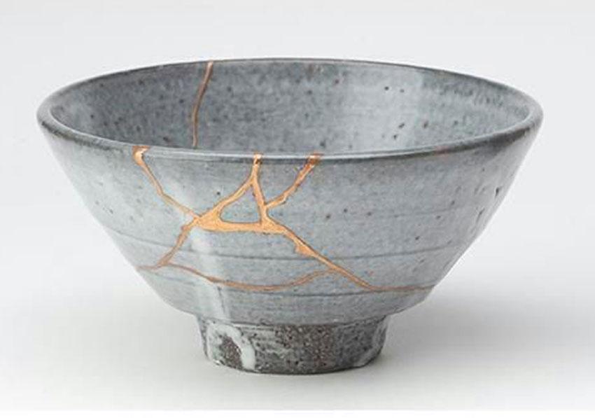 kintsukuroi, ceramica, oro, plata, reparar, desperfectos, arte, tradicion, japon