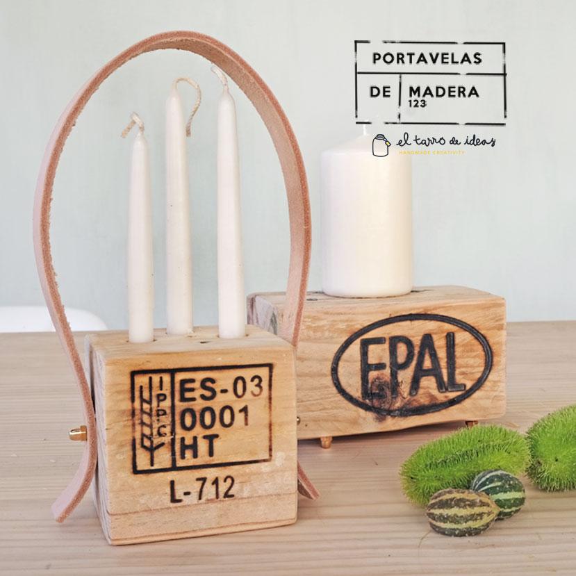 portavelas, reciclaje, madera, diy, handmade, tutorial, hazlo tu mismo, pale, manualidades, reciclar, decoracion, velas, candelabro, navidad, navideño