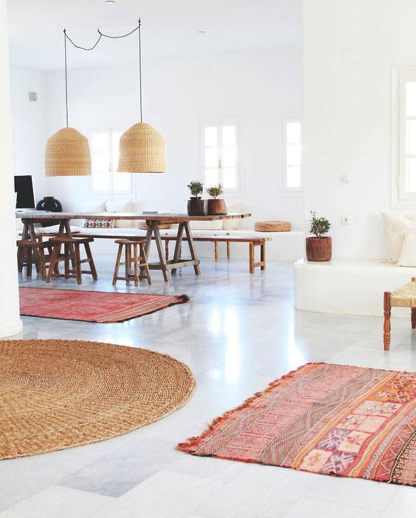 alfombras, tendencia decoracion, cocina, home deco, invierno
