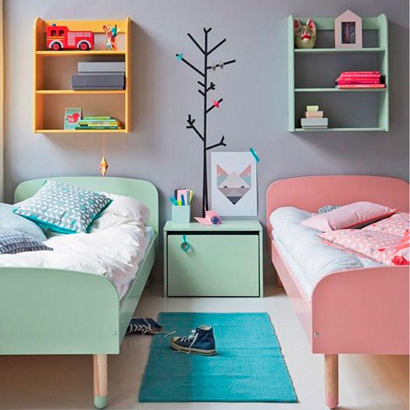 habitacion, habitaciones, peques, familia numerosa, decoracion, hogar, interiores, inspiracion, blog