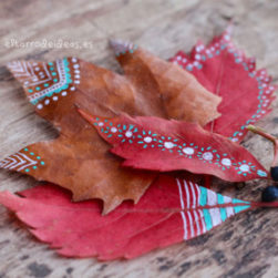 hojas secas, creatividad, actividades al aire libre, planes con niños, handmade, diy, pintar, dibujar