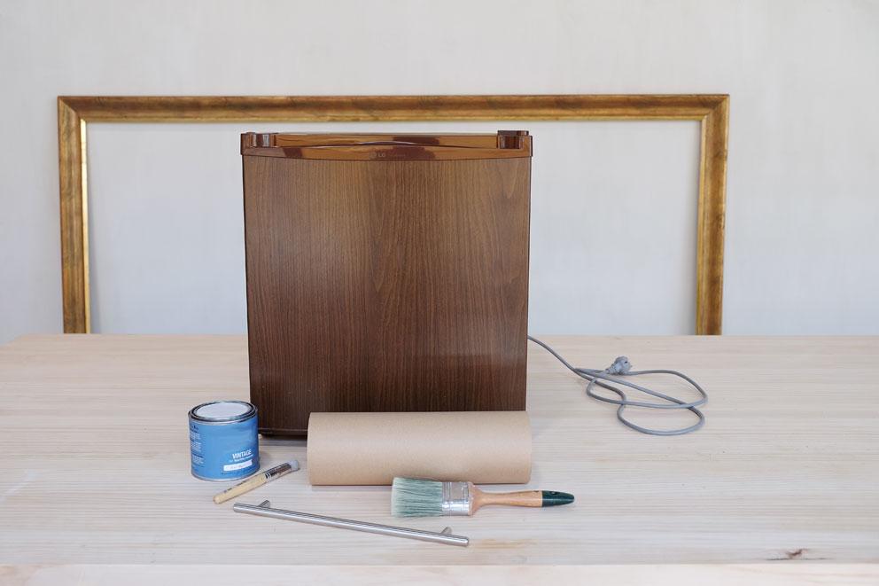 nevera, tutorial, handmade, chalkpaint, pintar, pintura