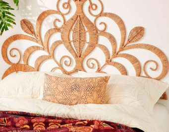 Wicker, mimbre, muebles, decoracion, interiores, inspiracion, artesania, artesanal, tendencia, armarios, sillas, lamparas, camas, cabeceros