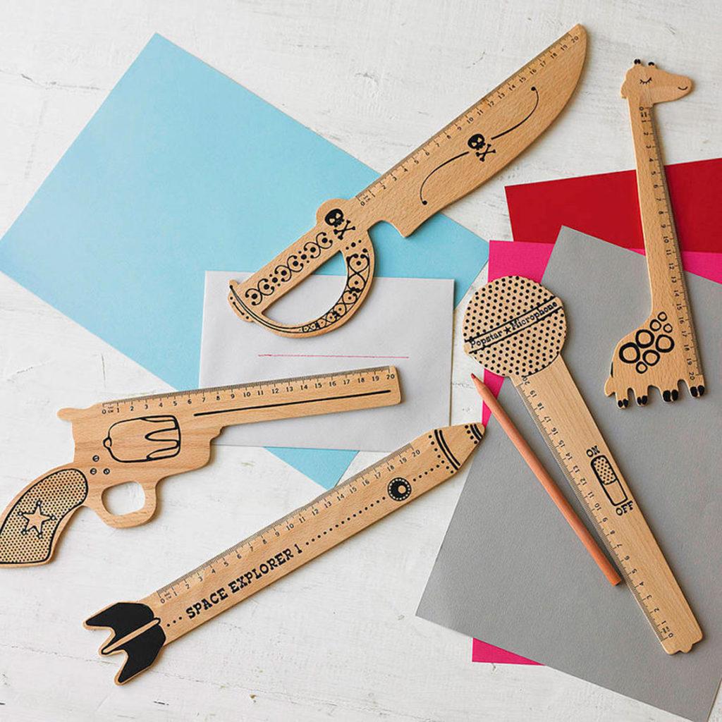 regalos vintage, juguetes de madera, regalos bonitos, reglas, creatividad para niños