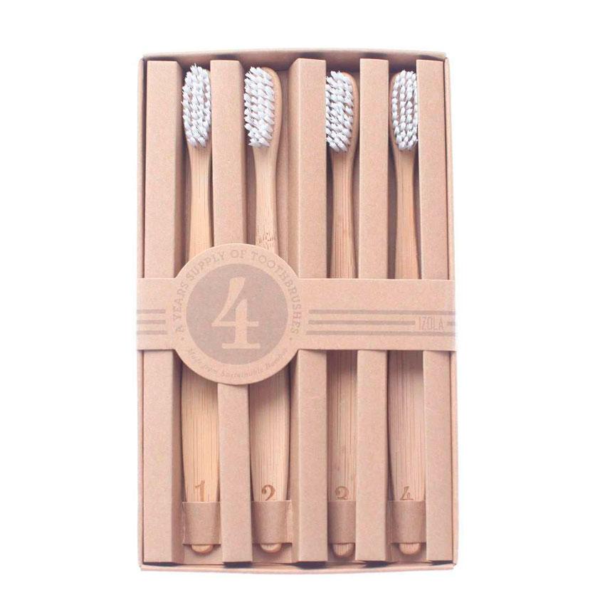 cepillo de dientes, regalos, navidad, amigo invisible, regalos diferentes, regalos originales, bambús