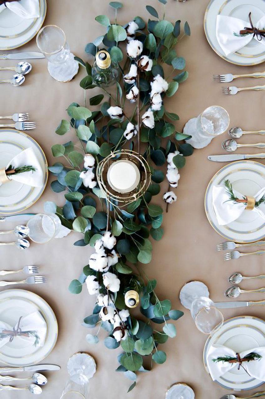 eucalipto, decoracion, cocina, aromaterapia, jarrón , camino de mesa, fiesta, eventos