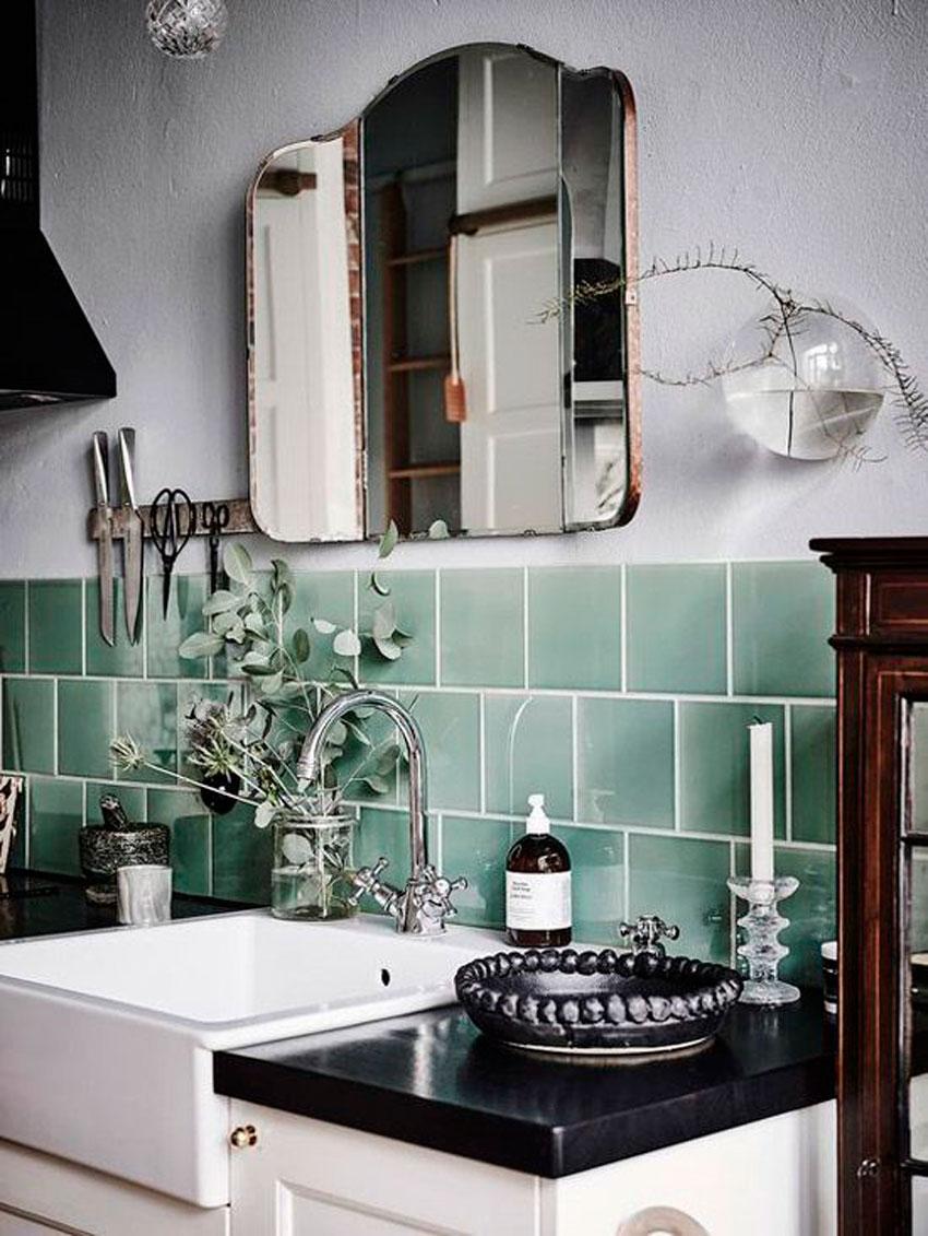 eucalipto, decoracion, cocina, aromaterapia, jarrón